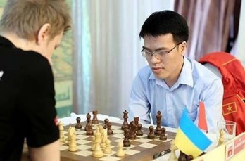 Quang Liem 23rd in chess world ranking