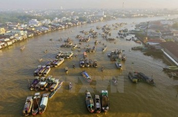Cai Rang Floating Market to be strong tourism brand of Can Tho