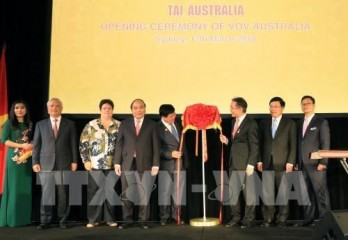 PM attends launch of VOV Australia in Sydney