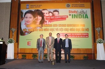 Educational cooperation helps promote Vietnam-India ties: workshop