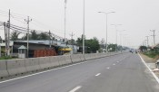 DT830 road construction project completed