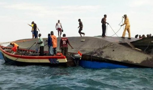At least 42 drowned in Lake Victoria ferry sinking, death toll could top 200 - officials