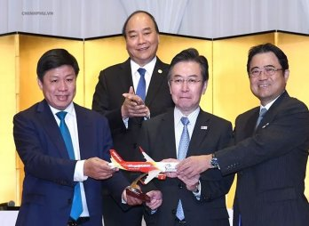 PM witnesses launching of three new Vietnam-Japan direct air routes