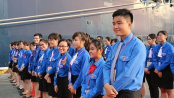 Vietnam welcomes Southeast Asia-Japan youth ship