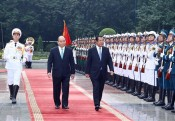 Cambodian PM Hun Sen concludes official trip to Vietnam