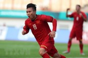 Midfielder Nguyen Quang Hai nominated Asia's best footballer award