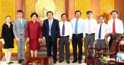 Thai Consul General to HCMC pays courtesy visit to Long An leaders