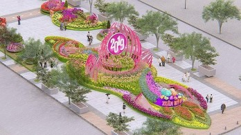 Nguyen Hue flower street to open on February 2