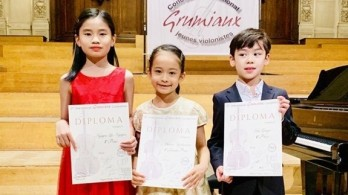 Vietnamese violin talent wins first prize at international competition