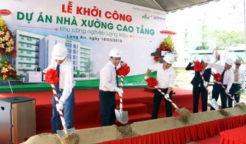 Long Hau Industrial Park: High-rise warehouse project commenced