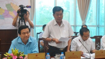 Long An proposes to be funded for site clearance for Ho Chi Minh Highway project (through the province)