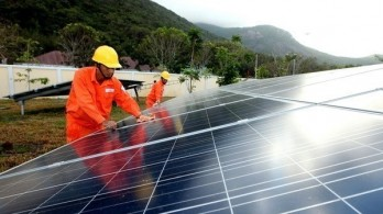 Solar rooftop system inaugurated in An Giang