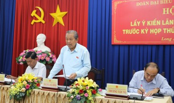Long An proposes 18 issues to the Central ministries and branches