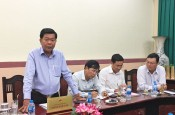Long An provincial leader works with Vietnam Academy of Social Sciences