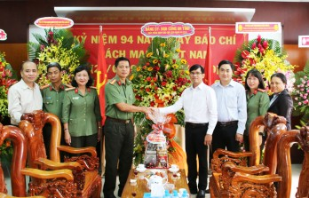 Localities, agencies and units congratulate Long An Newspaper on the occasion of Vietnam Revolutionary Press Day on June 21