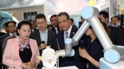 Top legislator visits China's first hi-tech park