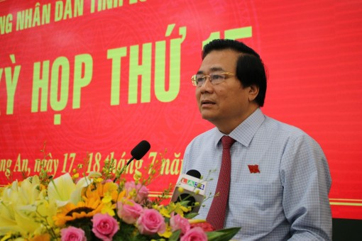 Q&A session of 15th meeting session of Long An provincial People's Council IX: Responsible, direct and focused