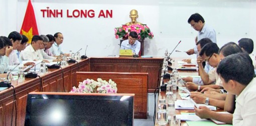 Tan An City agreed to recognize completion of new-style rural construction
