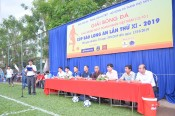Opening the 11th Long An Newspaper Cup Football Tournament
