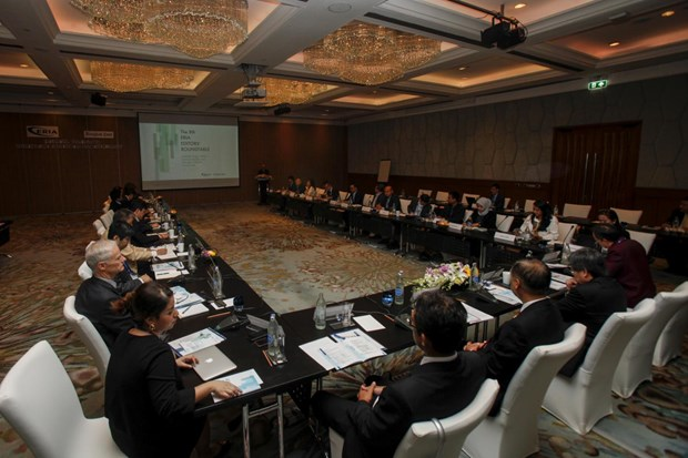 Roundtable discussion featured speakers which included Asean secretary-general Dato Paduka Lim Jock Hoi. (Photo: bangkokpost.com)