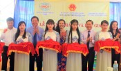 Long An inaugurates and hands over 3 classrooms in Tuyen Binh Tay commune
