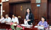 Long An Vietnam Fatherland Front Committee supervises the Provincial People's Committee on implementation of safe education environment
