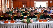 Long An: Building typical model of comprehensive strong provincial Military Command reviewed