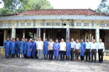 General Director of VOV – Nguyen The Ky visits and works in Can Duoc district