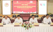 Long An People's Committee and Voice of Vietnam promote propaganda cooperation