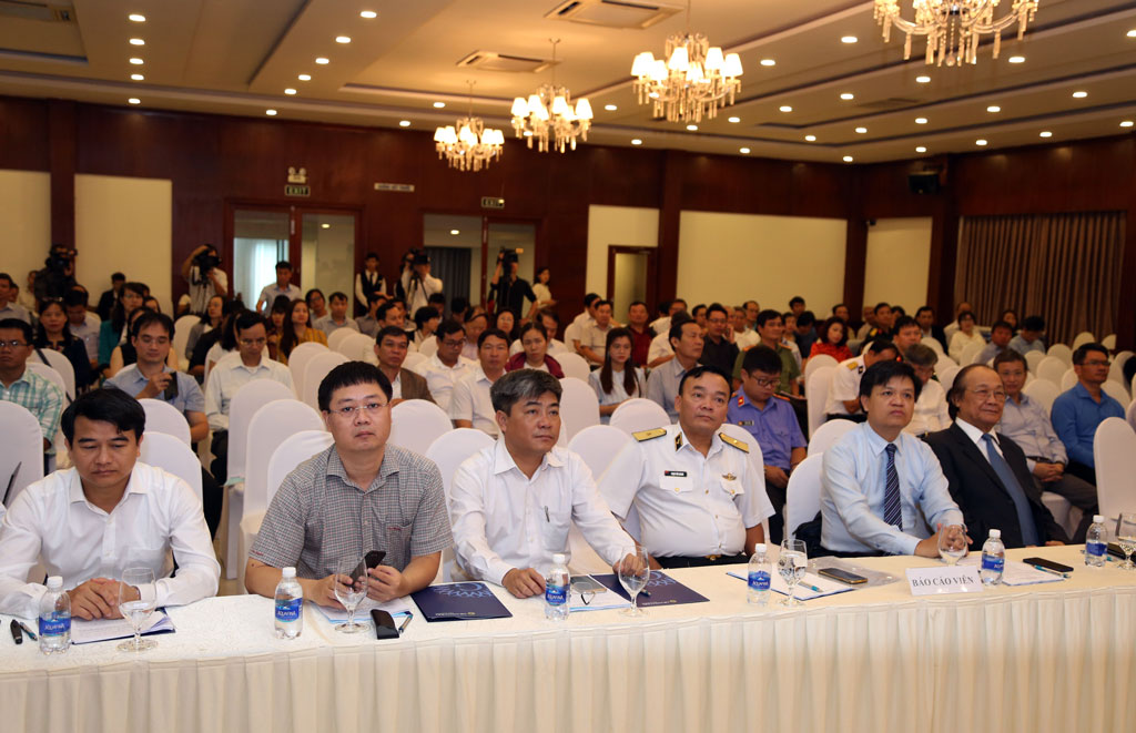 Delegates attend the conference