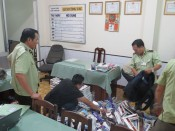 Long An: In 10 months, forces 389 seizes 1,555,064 packages of smuggled cigarettes