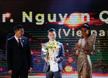 Vietnamese sports stars win big at AFF Awards 2019
