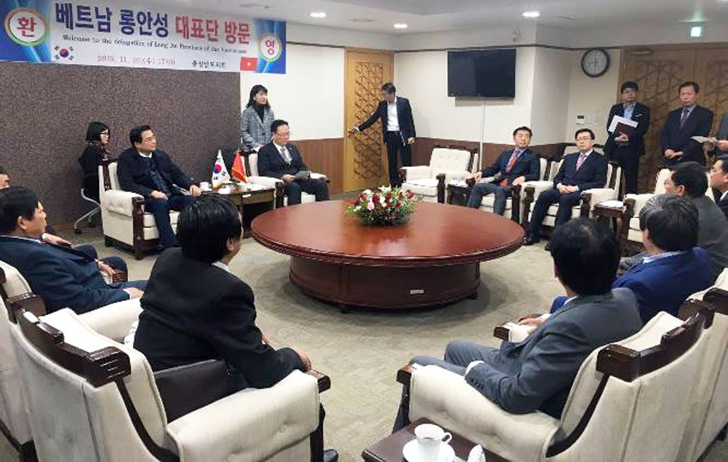 Meeting with the Chungcheongnam Provincial Council