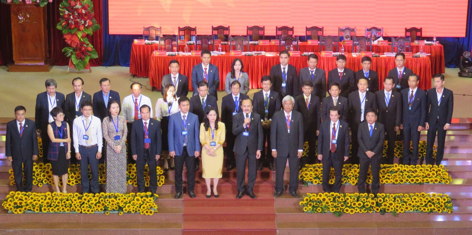 The Executive Committee of the Association for the term of 2019-2024 apppears at the Congress