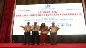 4th Press Prize on Mekong River Delta awarded