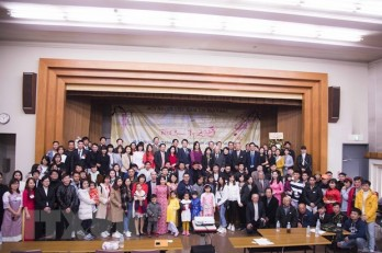 Vietnamese people association in Japan's Ibaraki prefecture debuts
