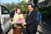 Cambodian Deputy Prime Minister extends New Year wishes to Long An Party Committee, authority and people