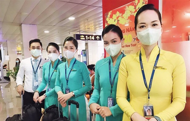 Flights from and to affected areas in China must be restricted, the CAV said. (Photo: VNA)