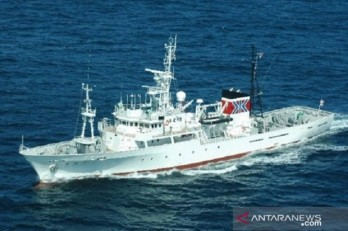 Japan delivers fishery patrol vessel to Indonesia