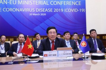 ASEAN, EU work closely in COVID-19 fight