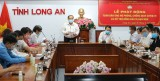 Vietnam Fatherland Front of Long An province calls for support in preventing and fighting against Covid-19 epidemic, drought and salinity