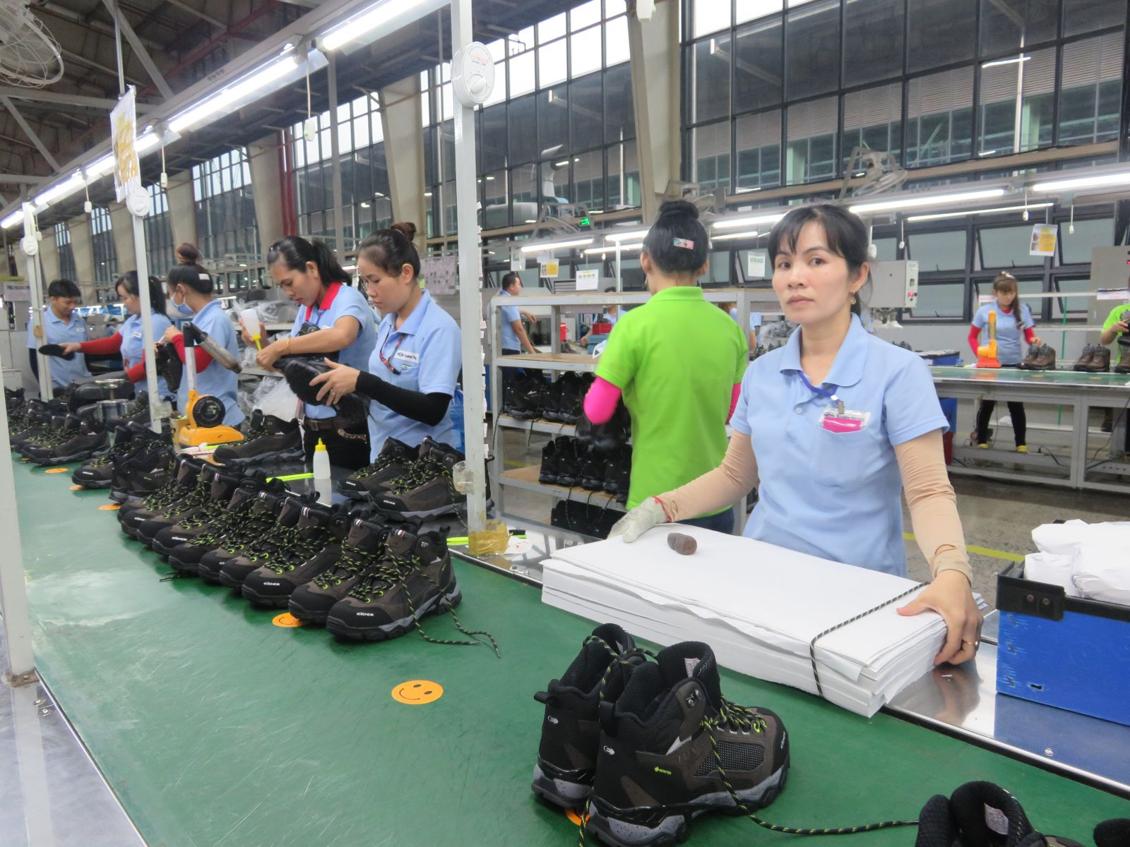 Export turnover in the first quarter decreased, including footwear