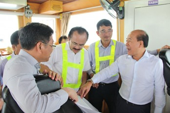 Ministry of Transport eyes at Long An International Port