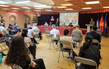 Young Vietnamese expats in France work to support AO/dioxin victims